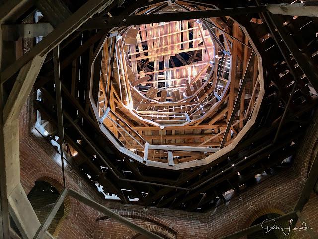 Interior of theUnfinished Cupola at Longwood, Natchez, MS.