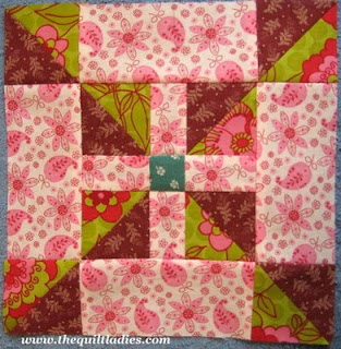 Whirling Square Quilt Pattern