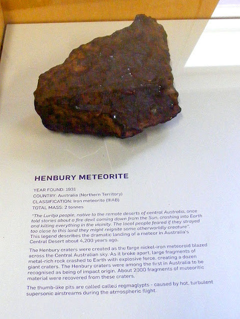 Henbury meteorite in the collection of Mount Stromlo Observatory. Canberra. Australia. Photographed by Susan Walter. Tour the Loire Valley with a classic car and a private guide.