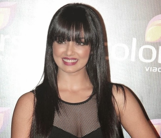 Sana Khan At Colors Channel Party Hot Photos Actress Trend