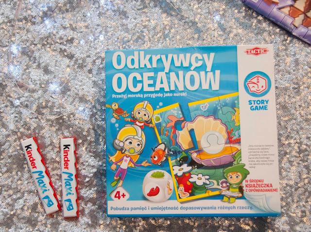 odkrywcy oceanów gra planszowa dla dzieci