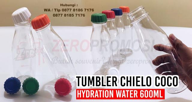 COCO Hydration Water Bottle, Bottle Plastik Coco Hydration Water Bottle, Barang Promosi Drinkware CHIELO Coco sports bottle