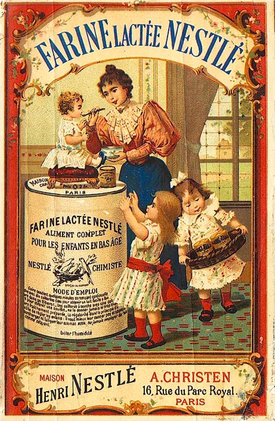 Nestlé advertising 1893