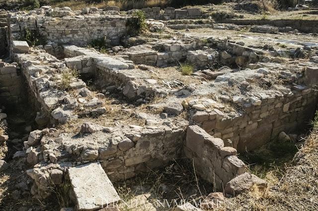 Domus romana excavada en las inmediaciones