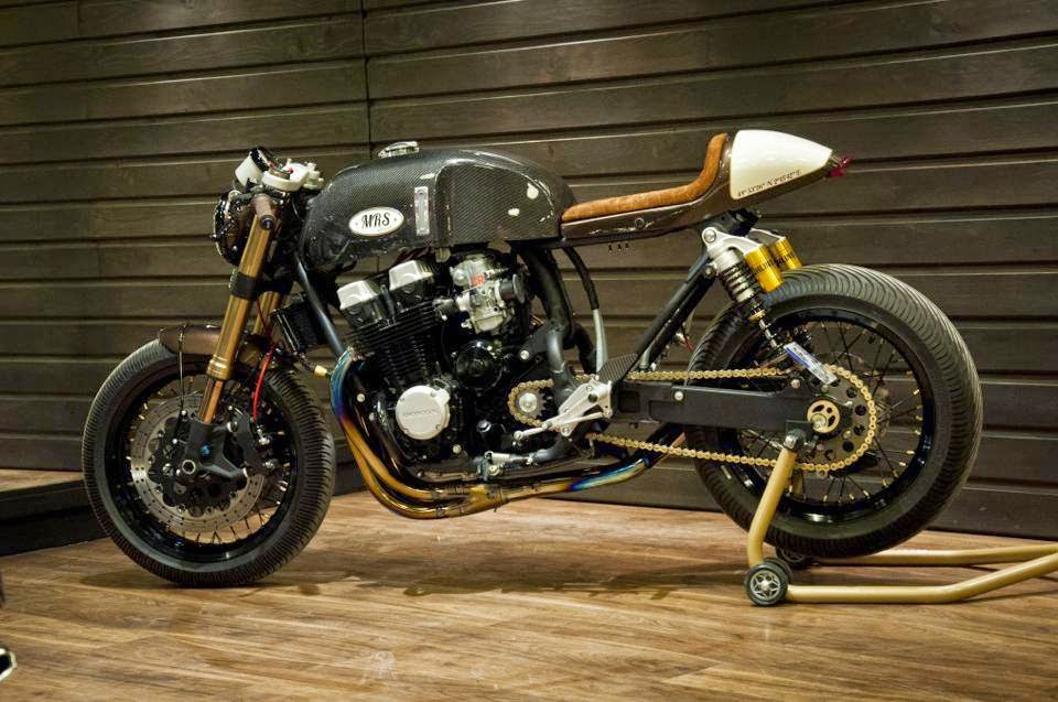 honda cb 750 rc42 cafe racer | oficina - grease n gas