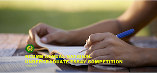 NCDMB National Undergraduate Essay Competition 2020   4th Edition