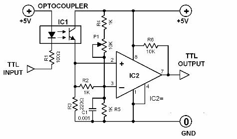optocoupler-circuit-diagrams