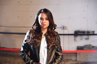 Tiger 2018 boxing movie still Janel Parrish