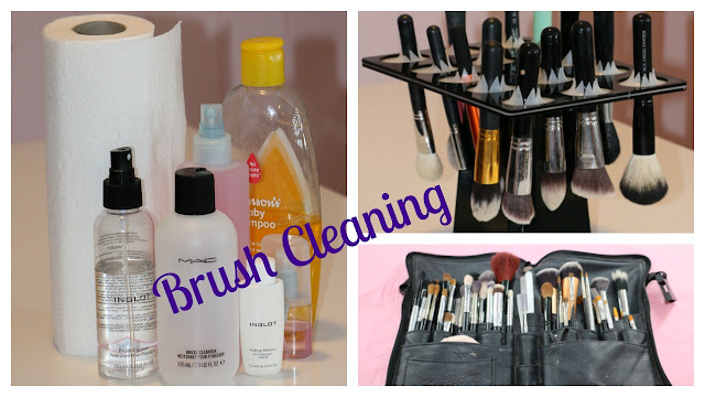 How To: clean makeup brushes | Janbeautary Day 23