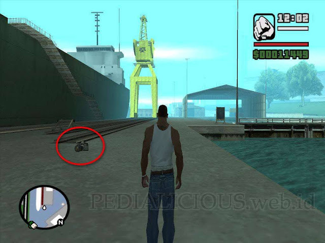 Lokasi Camera (Kamera) di Easter Basin GTA San Andreas