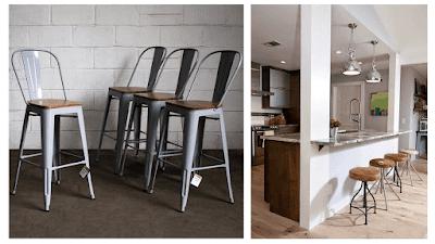 sillas y butacos para barras de cocina