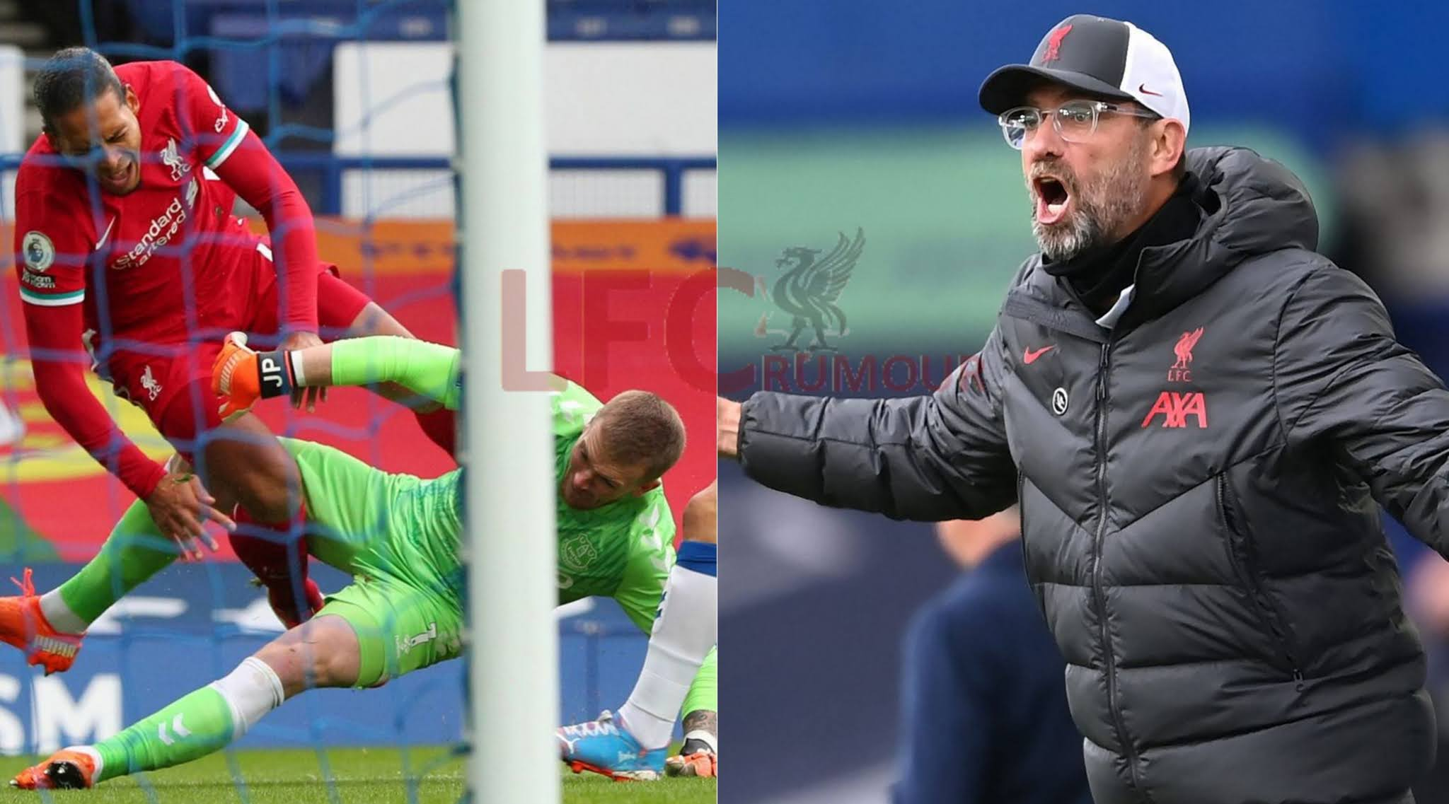 Jurgen Klopp questions poor officiating after a 2-2 draw at Goodison Park.