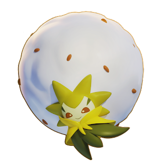 Pokémon Unite - Eldegoss Splash Art