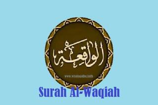 surah alwaqiah arab latih terjemahan