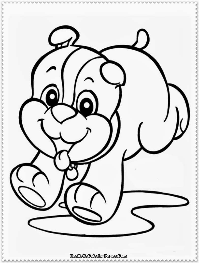 puppy printable coloring pages - photo#17
