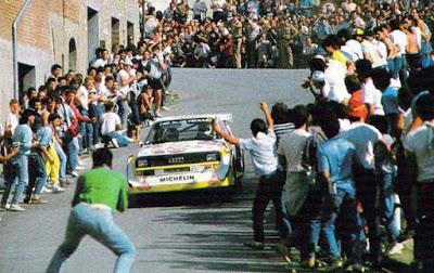 Fans of autosport