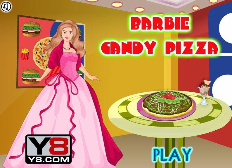 Barbie Masak Pizza Masak Memasak