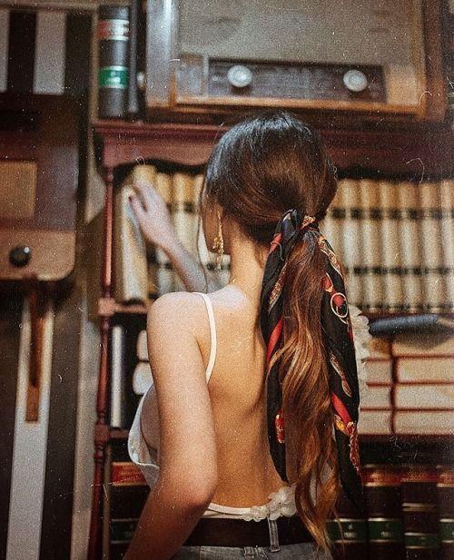 Recogidos peinados con pañuelos
