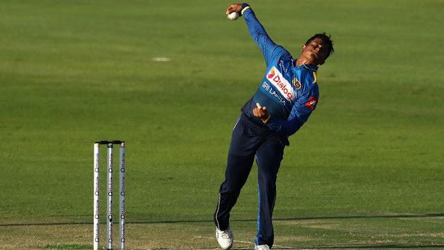 Sri Lanka's Vandersay sent home from the West Indies