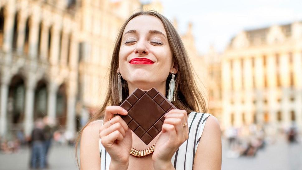 chocolate, beautiful skin