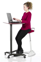 Perch Sit To Stand Stool by OFM