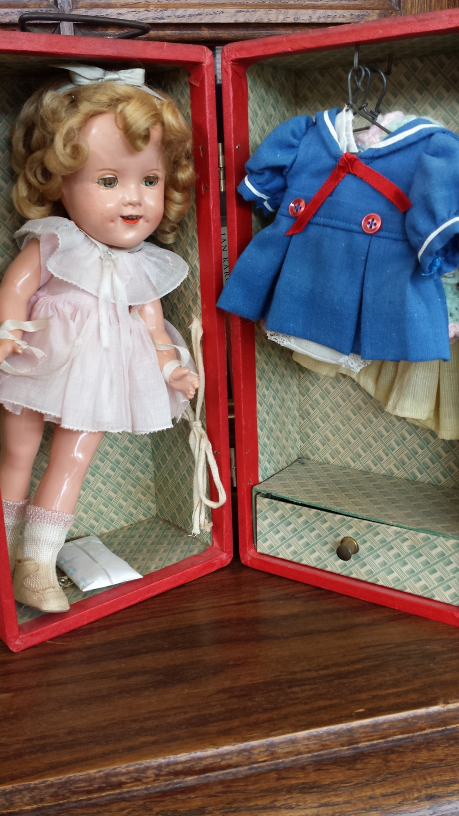 Alabama Baby Doll With Red Shoes