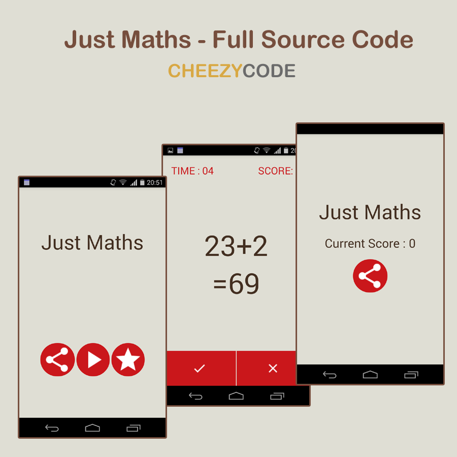 Learn android step by step with example go step by step through these tutorials to learn android this tutorial are for creating a fully functional appjust maths whose source code is provided in baditri Images