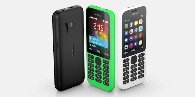 Microsoft unveils Nokia 215 with Facebook Messenger and long battery life
