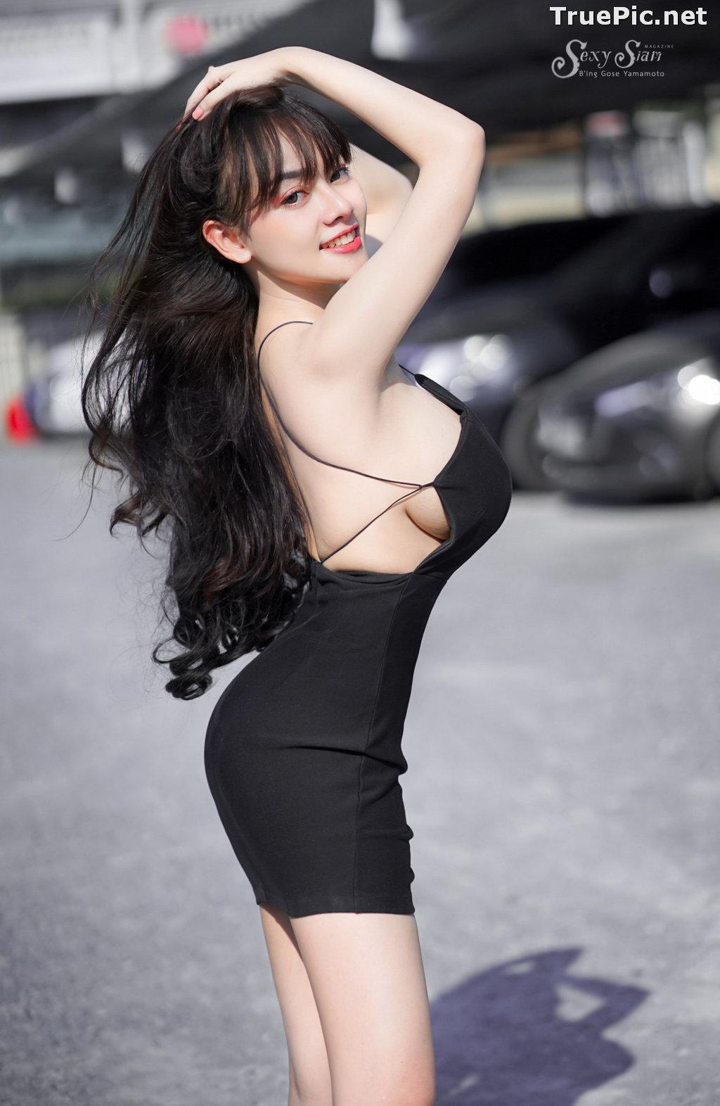 Image Thailand Model - จุ๊ปเปอร์ จุ๊ป - Sexy Black Car Girl - TruePic.net - Picture-6
