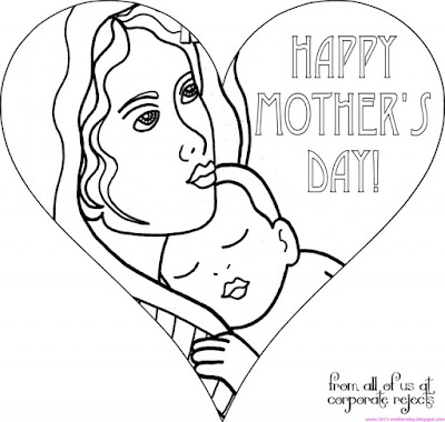 printable mother's day coloring pages grandma