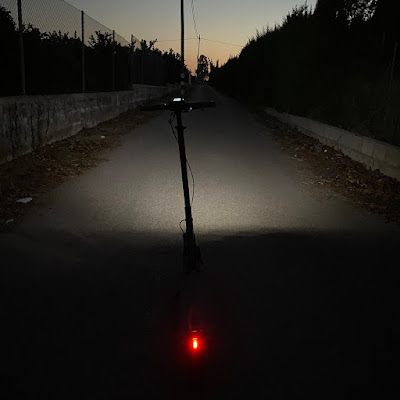 Luces del patinete electrico E-twow GT SE