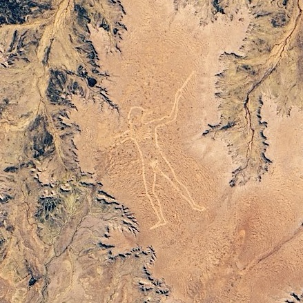 Marree Man - The Largest Drawing On Earth