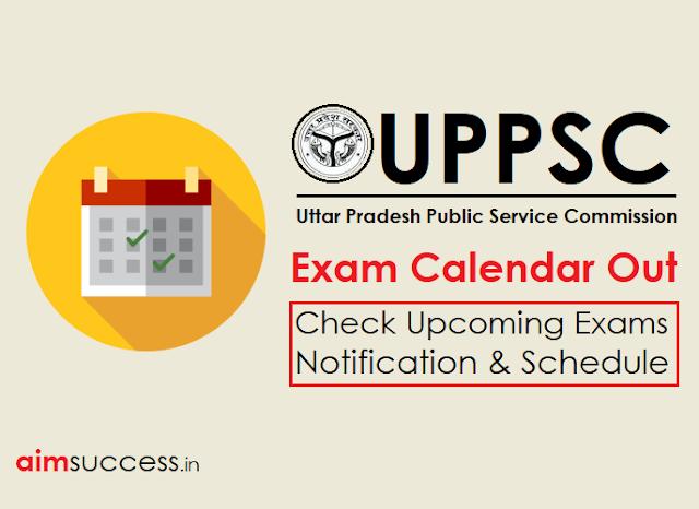 UPPSC Exam Calendar 2018