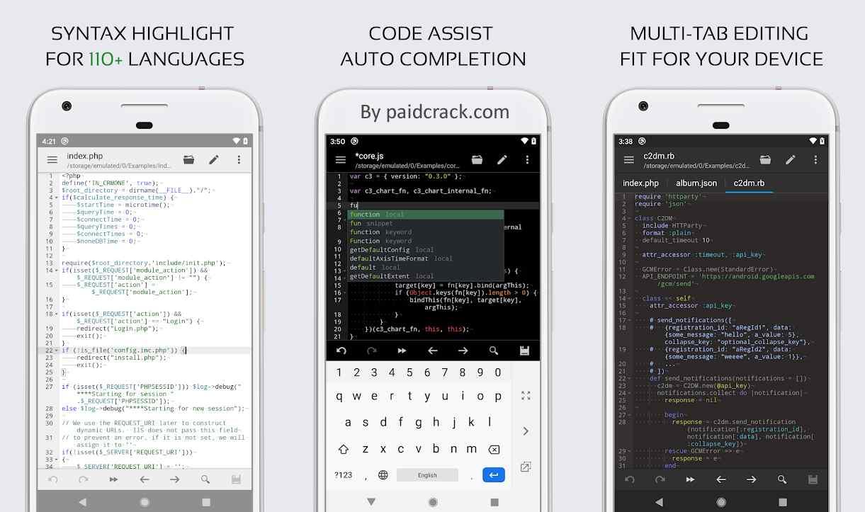 Code Editor Premium Mod Apk 0.5.0