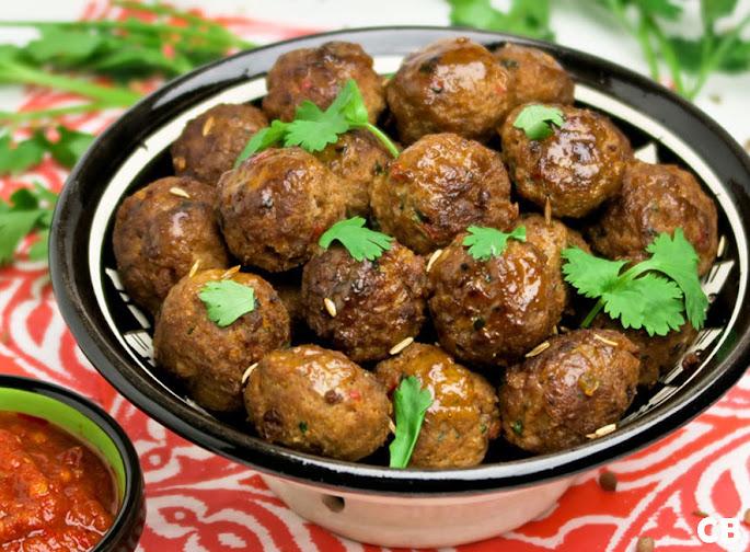 Recept Marokkaanse gehaktballetjes met harissa