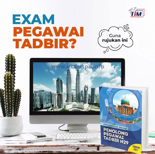 Contoh Soalan Peperiksaan Online PSEE Penolong Pegawai Tadbir Gred N29