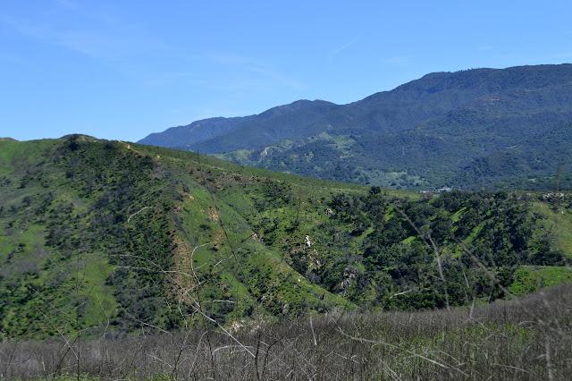 Aliso Loop Trail across the way