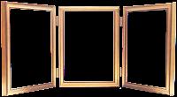 Moldura de janelas em png