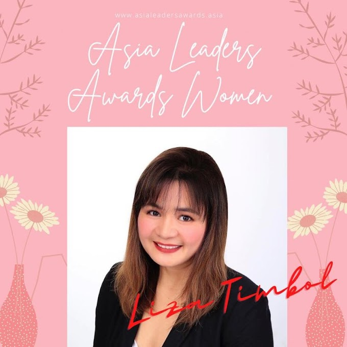 Woman in Power at Asia Leaders Awards 2021 featuring Liza Timbol