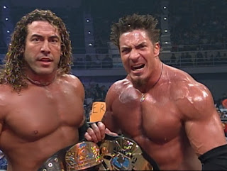 WCW Greed 2001 - Chuck Palumbo & Sean O'Haire won the tag team titles