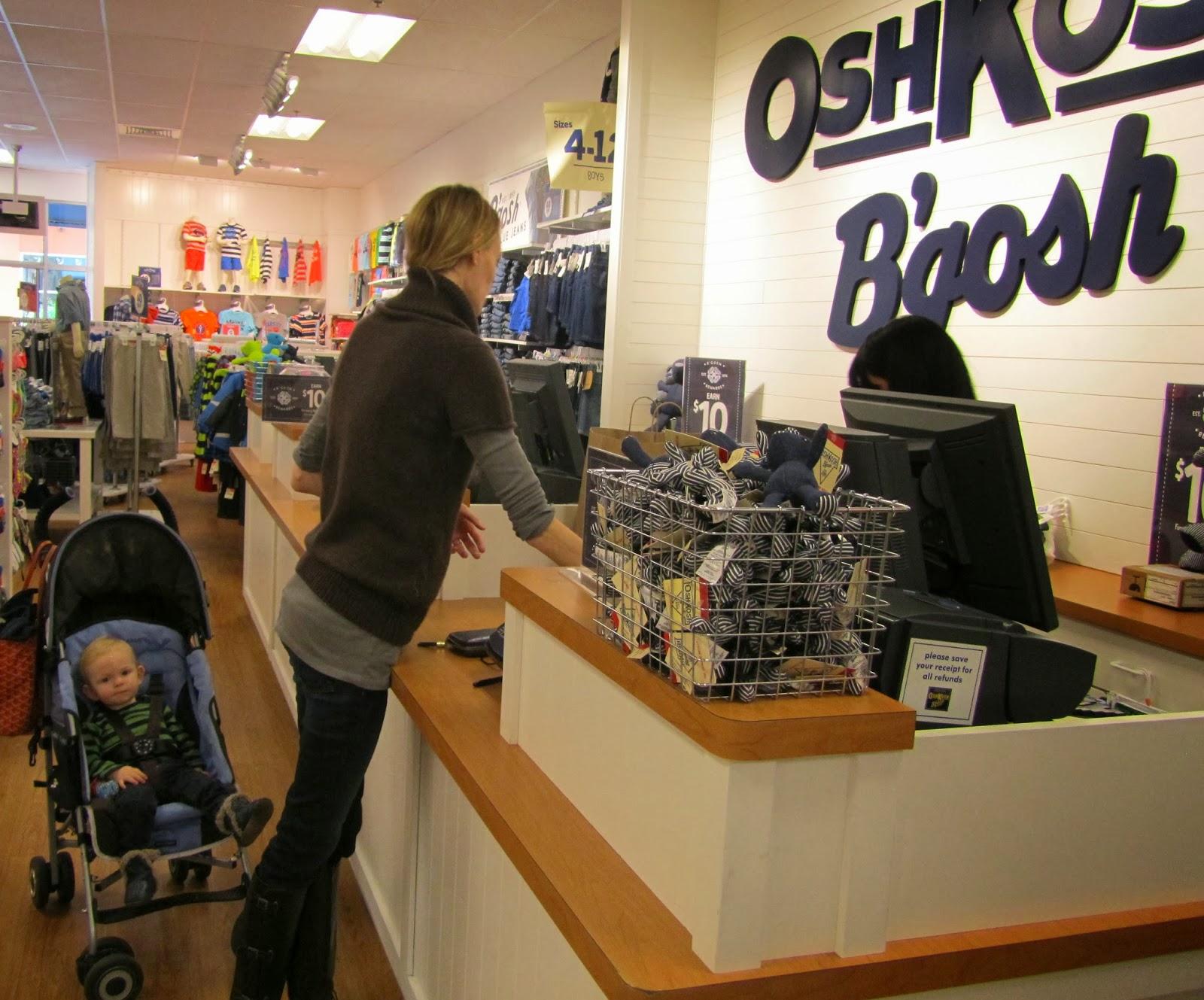 Misadventures In Motherhood Shop Till You Drop At Oshkosh B Gosh