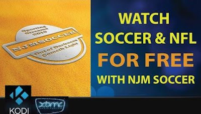 Update: How To Install NJM Soccer Addon On Kodi