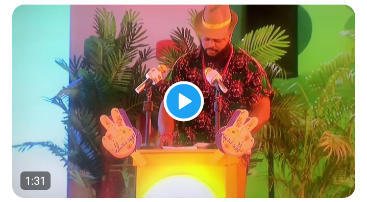 Watch the award-winning speech Whitemoney presented today during the Lipton task