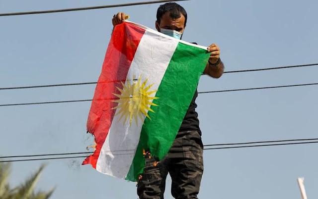 سهرۆكایهتی كۆمار؛ بێڕێزی بە ئاڵای كوردستان قابیلی قبوڵ نییە