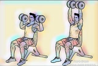 Two Bar Shoulder pres