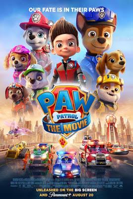Paw Patrol The Movie 2021 DVD Csutom HD NTSC Latino