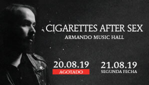 Concierto de CIGARETTES AFTER SEX en Bogotá ¡2da fecha!