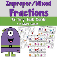 Improper and Mixed Fractions