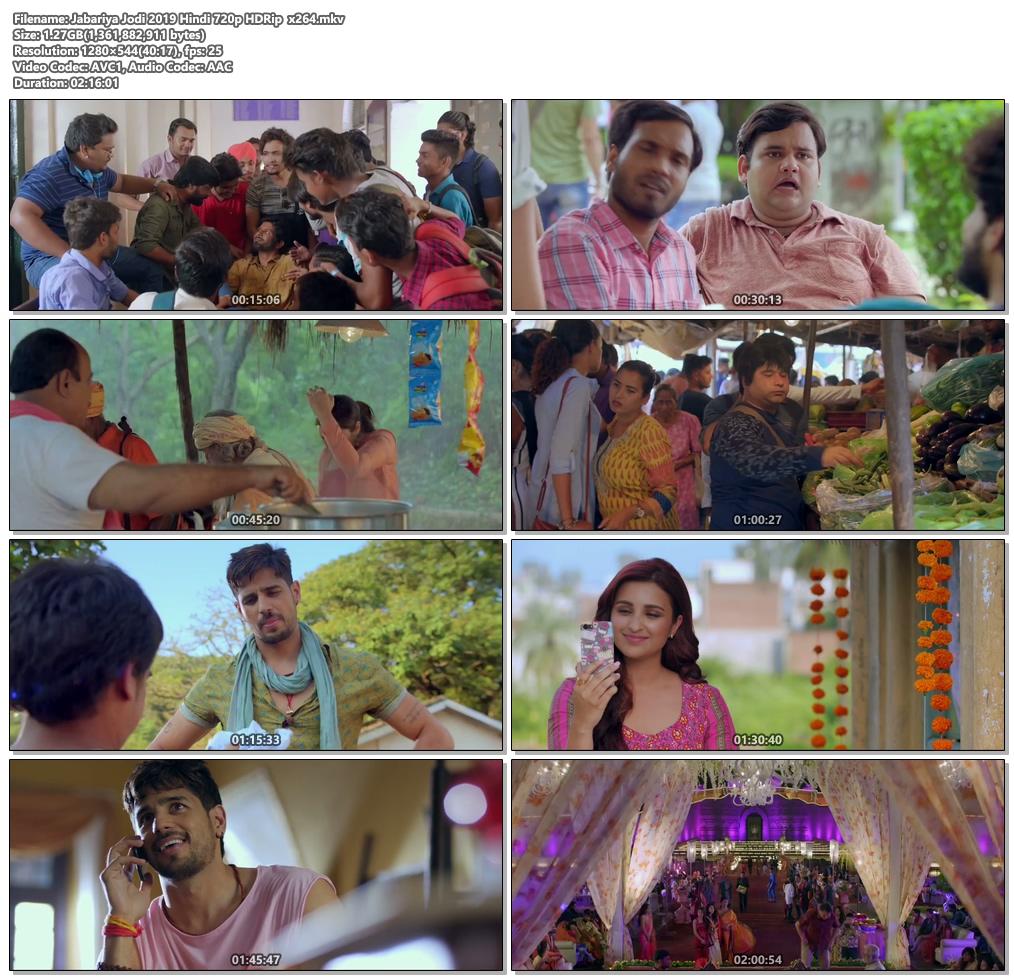 Jabariya Jodi 2019 Hindi 720p HDRip x264 | 480p 300MB | 100MB HEVC Screenshot