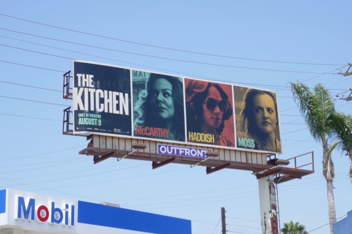 Kitchen film billboard